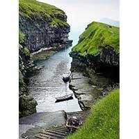 Îles Faroe – stage cours aquarelle Céline Dodeman