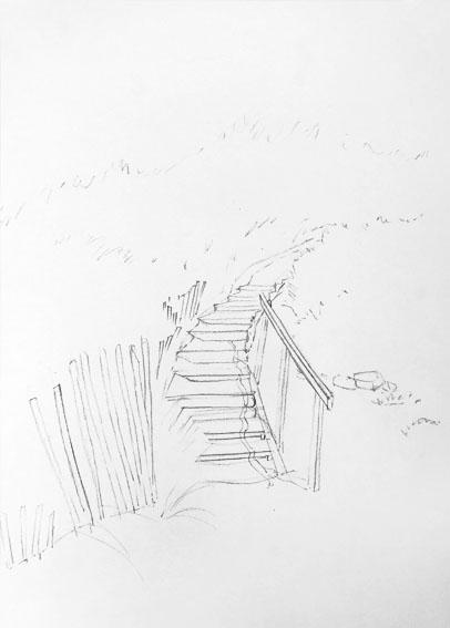 Démonstration d'aquarelle pas à pas pour débutant et perfectionnement, dessin