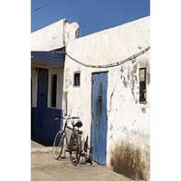 Vélo contre le mur – Céline Dodeman Aquarelle