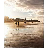 Silhouettes à St Malo – Céline Dodeman Aquarelle