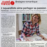 Article parution Ouest France-popup