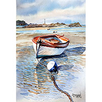 Barque canot - Céline Dodeman