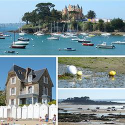Saint Briac, Cours d'aquarelle et dessin en extérieur, mer Bretagne 35, carnet de voyage